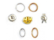 Jewellery Findings silver brass supplies components jewelry