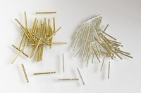 Earring Posts jewelry components brass silver pins